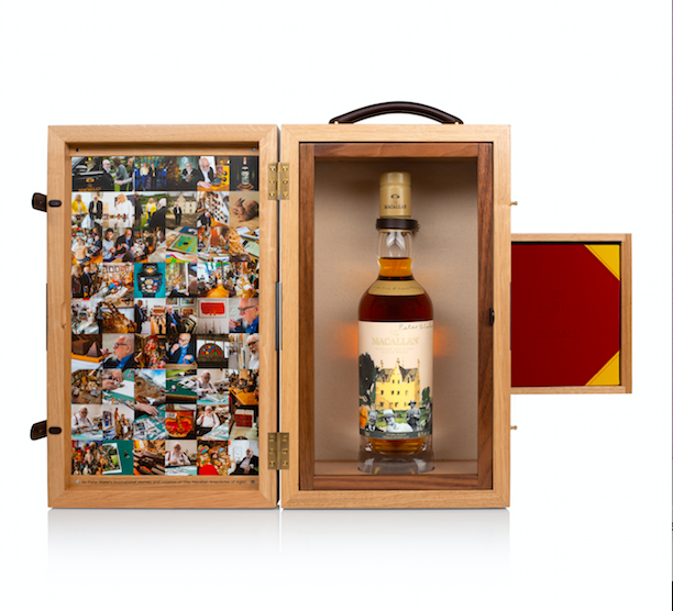 Sotheby's To Auction 'one-of-a-kind' Macallan Whisky photo