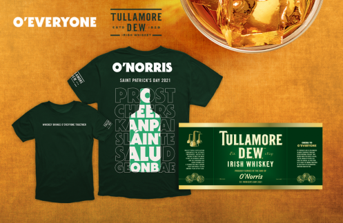 Tullamore Dew's 'o'everyone' Promotion Combines Personalized Print And Promo (and More If You Legally Change Your Name) photo