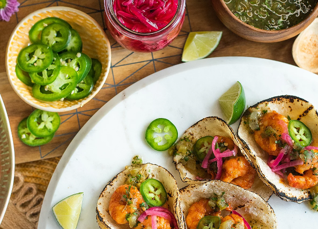 How To Make Shrimp Tacos Like Drew Barrymore photo