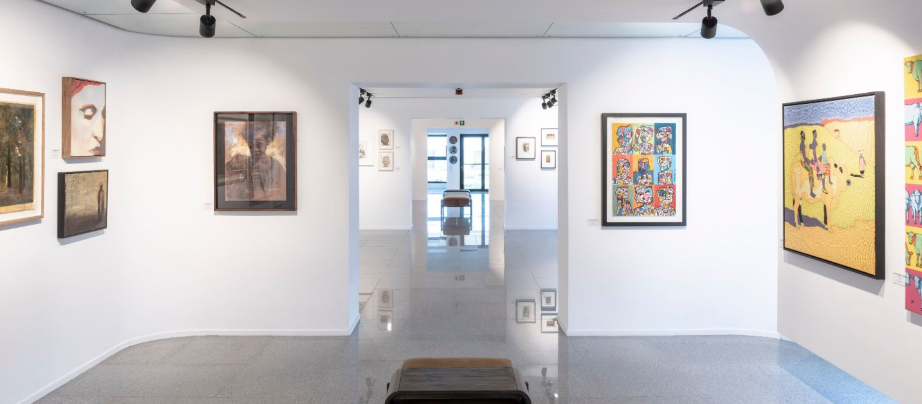 Jaffer Modern Welcomes Public With Community Of Portraits photo