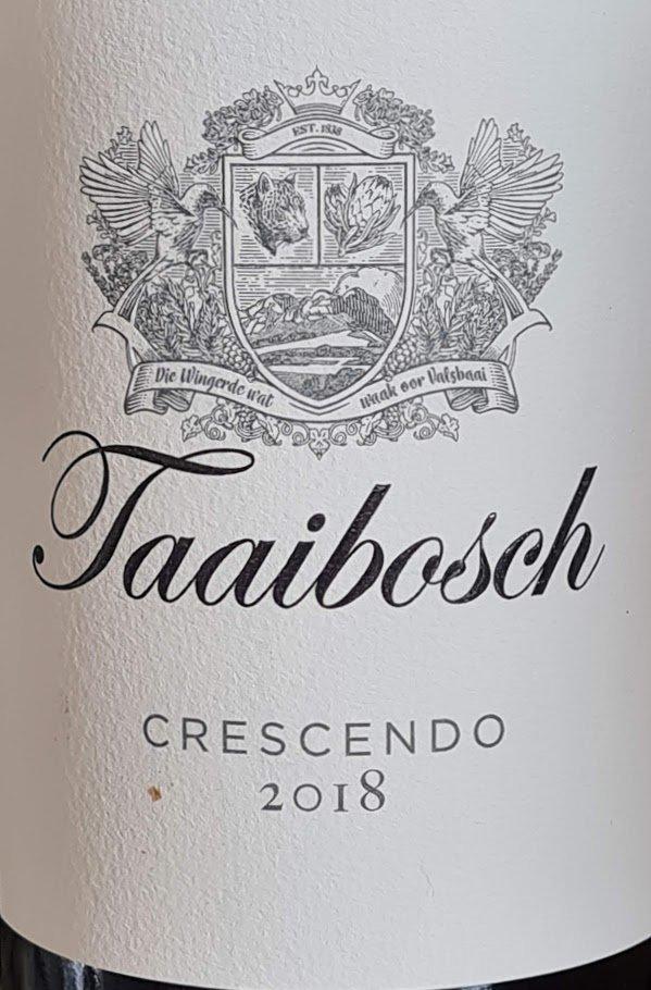 Taaibosch Crescendo 2018 photo