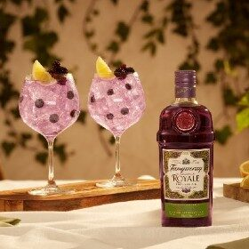 Tanqueray Blackcurrant Royale Launches On Amazon photo