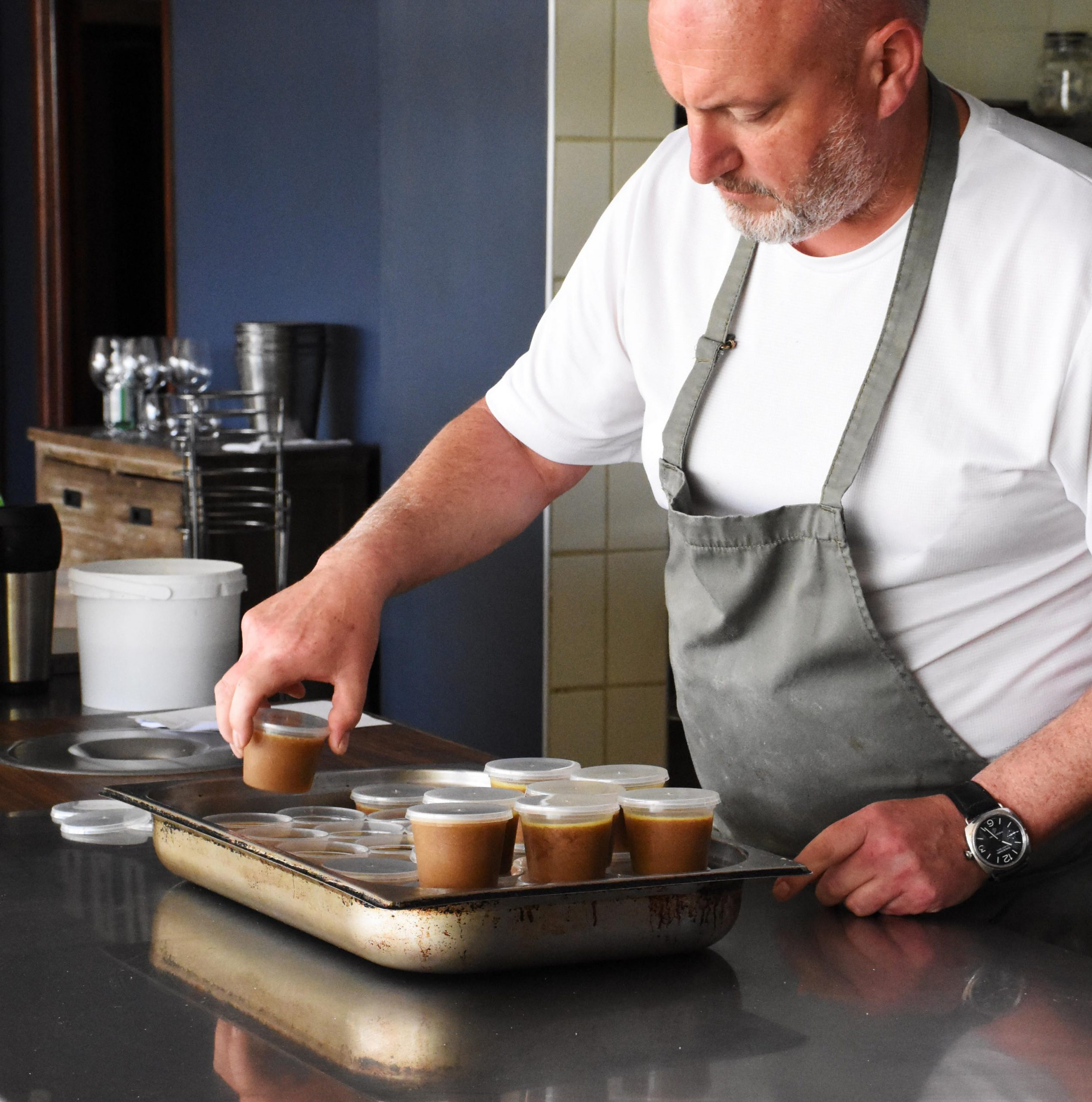 Dinner Box At Home With Chef George Jardine photo