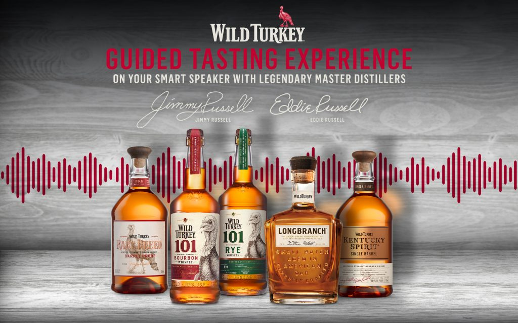 Wild Turkey Virtual Bourbon Tastings Now Available On Amazon Alexa/google Assistant. Wait…what?! photo