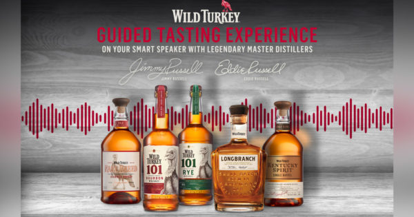 Wild Turkey Uses Voice Ai To Guide At-home Bourbon Tastings photo