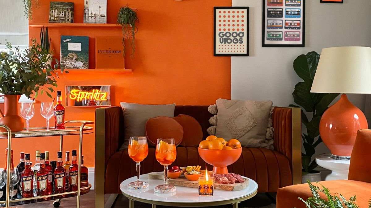 Psa: You Can Now Paint Your House The Same Color As An Aperol Spritz, Because Why Not photo