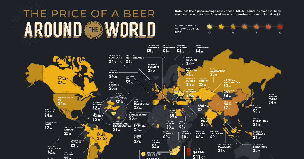 World Beer Index 2021: How Much Does A Beer Cost In Your Country? photo