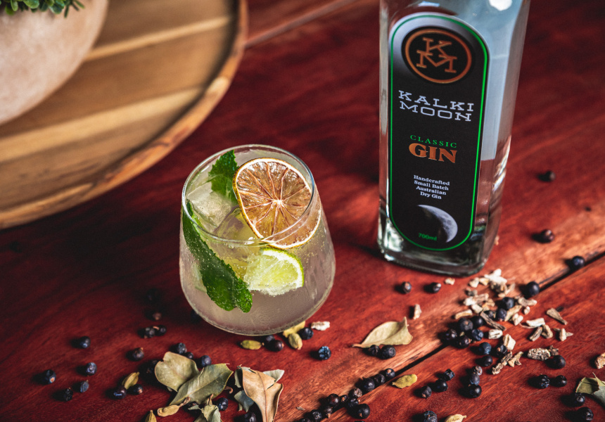 The Kalki Moon Gin Inspired By Moonlit Sugarcane Fields photo