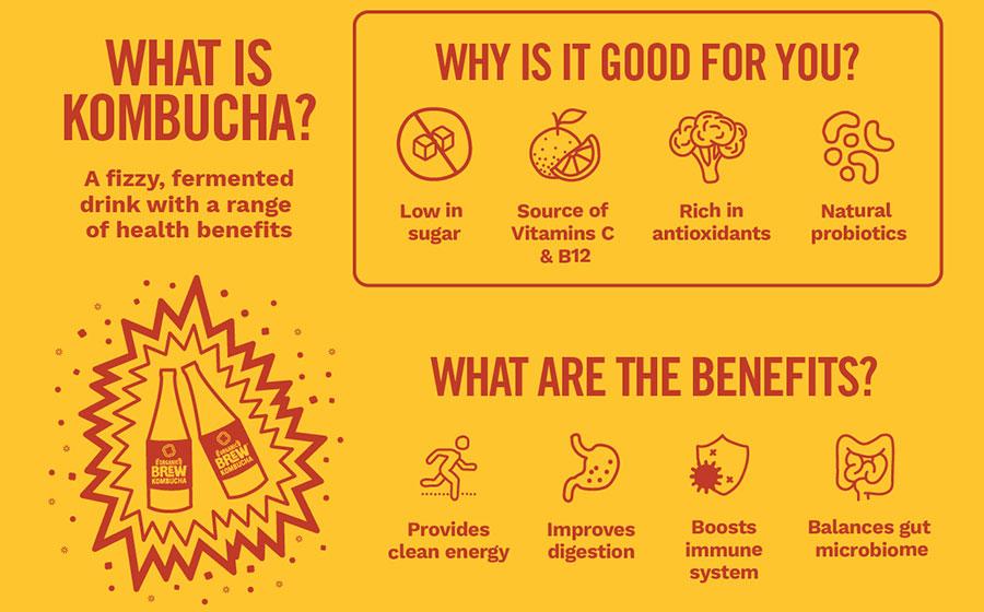 Beginners Guide To Drinking Kombucha photo