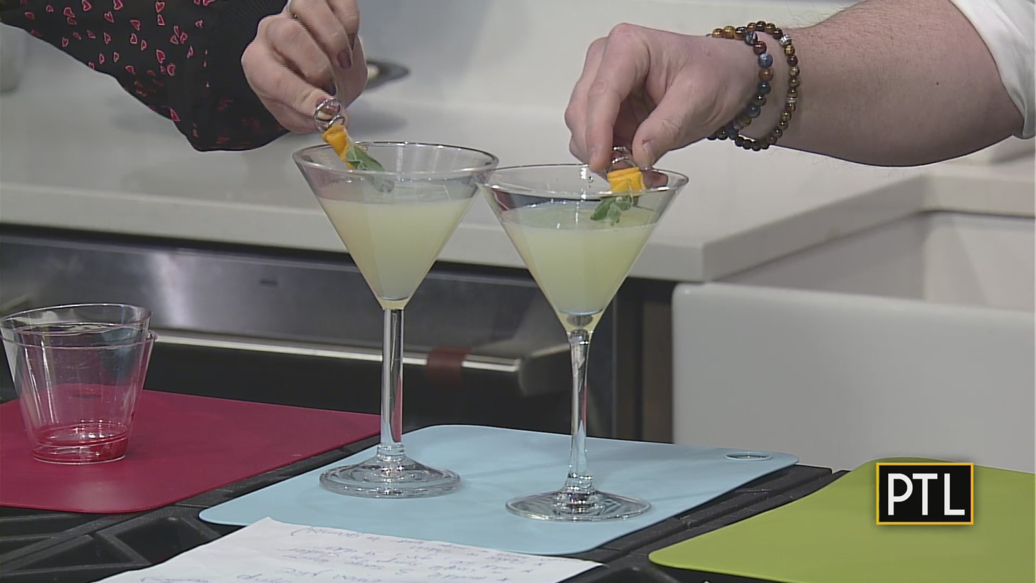 Cooking With The Crew: David's Valentine's Day Cocktail Recipes photo