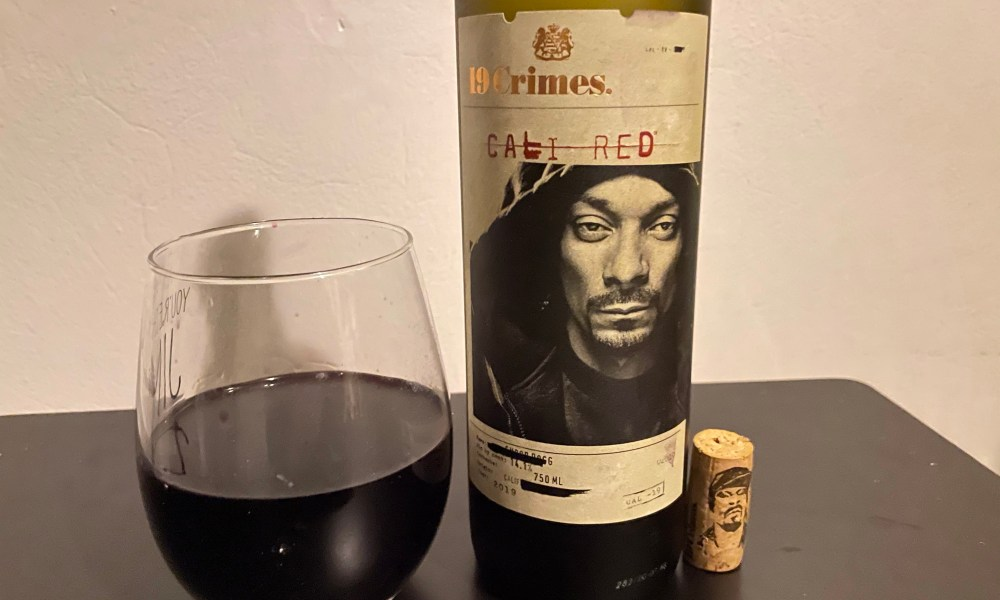 Why Snoop Dogg's 19 Crimes Snoop Cali Red Wine Is Worth A Try photo