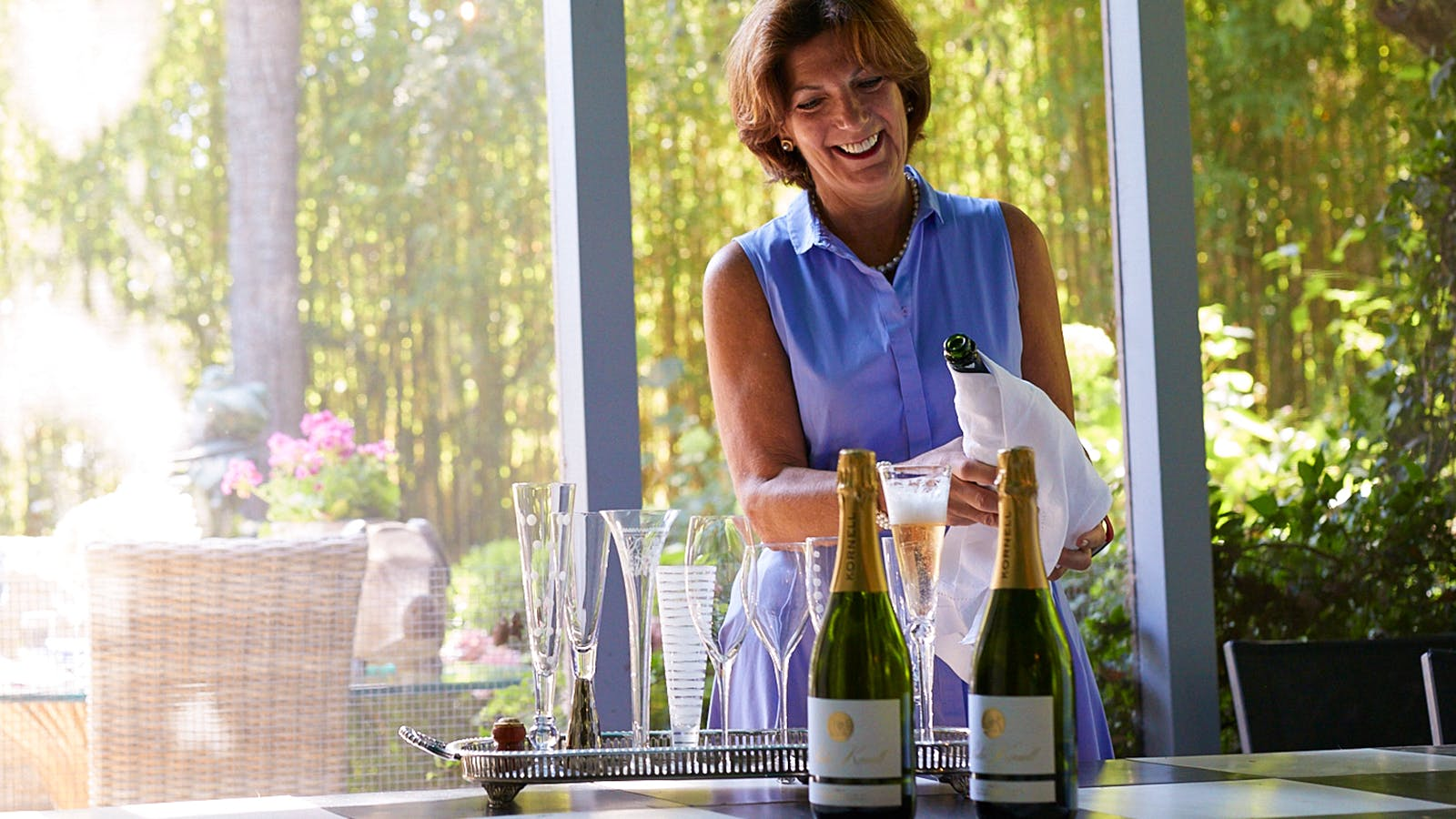 Pop Stars: Napa Sparkling Winemaker Paula Kornell photo
