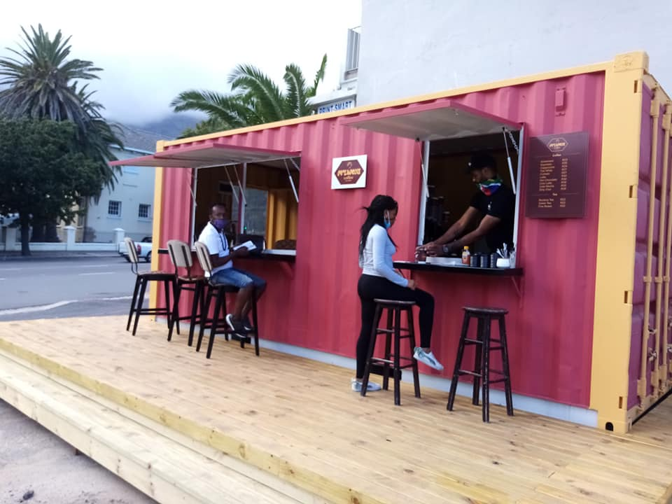 Molweni Coffee Container Opens In Cape Town photo