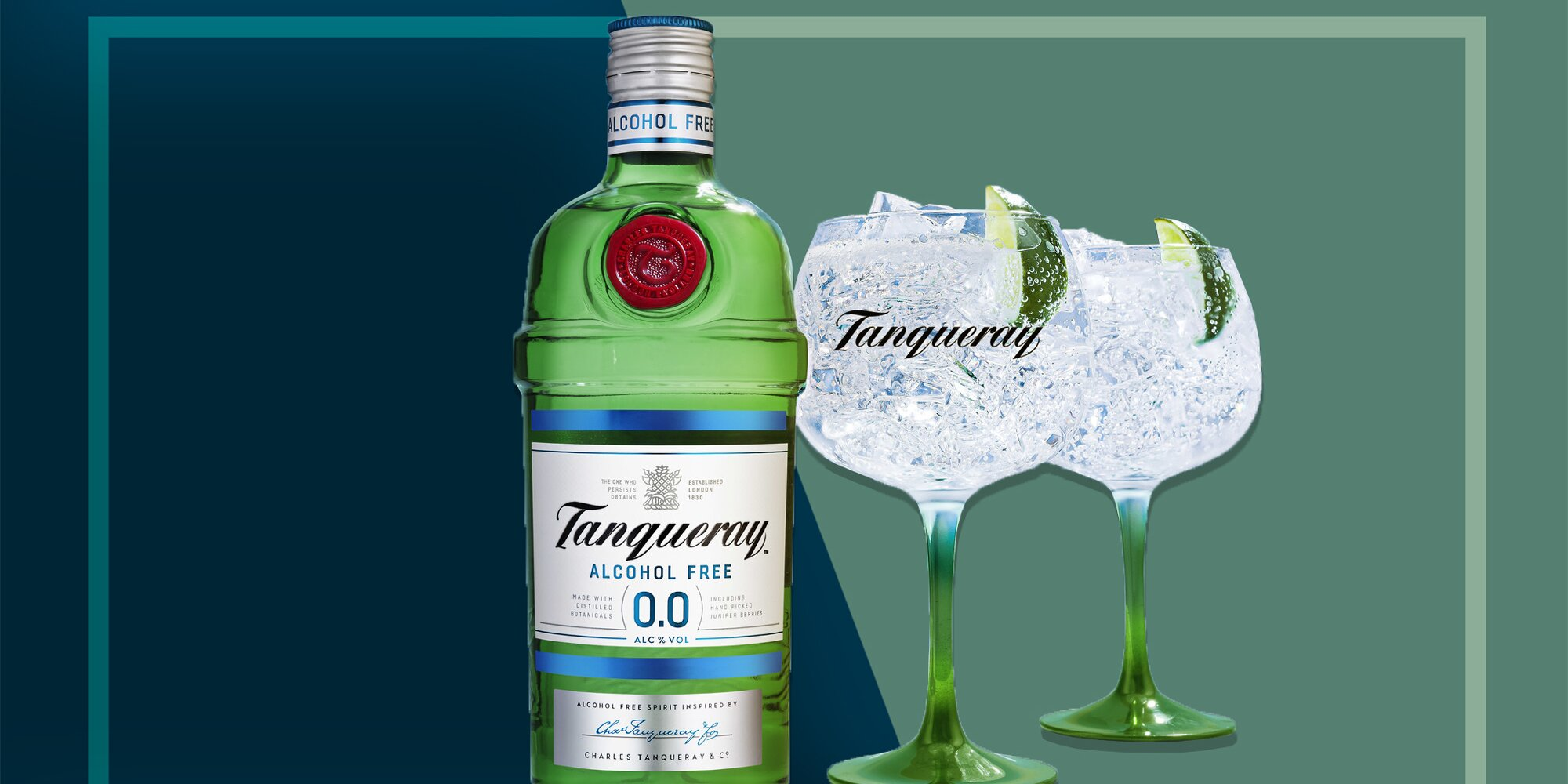 Tanqueray Announces Alcohol-free Version Of Its Gin photo