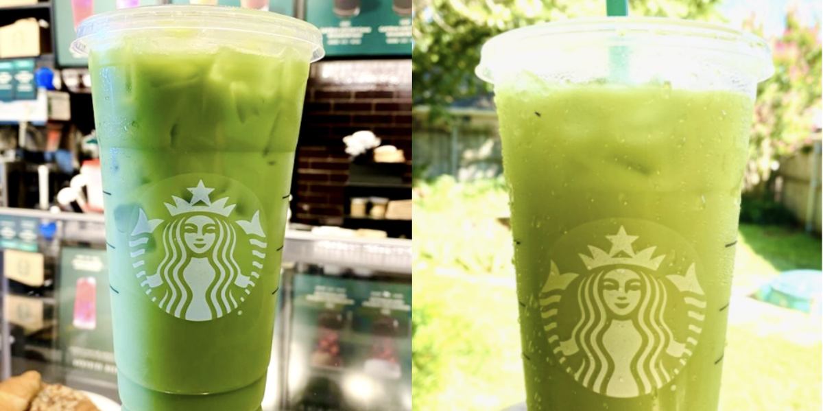 This Starbucks Shamrock Tea Secret Menu Hack Will Have You Counting Down The Days Until March photo