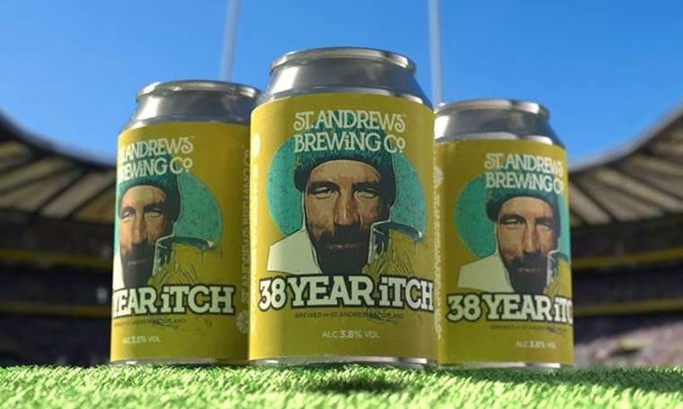 St Andrews Brewing Co. Launches New Beer To Celebrate Scotland's Six Nations Victory photo