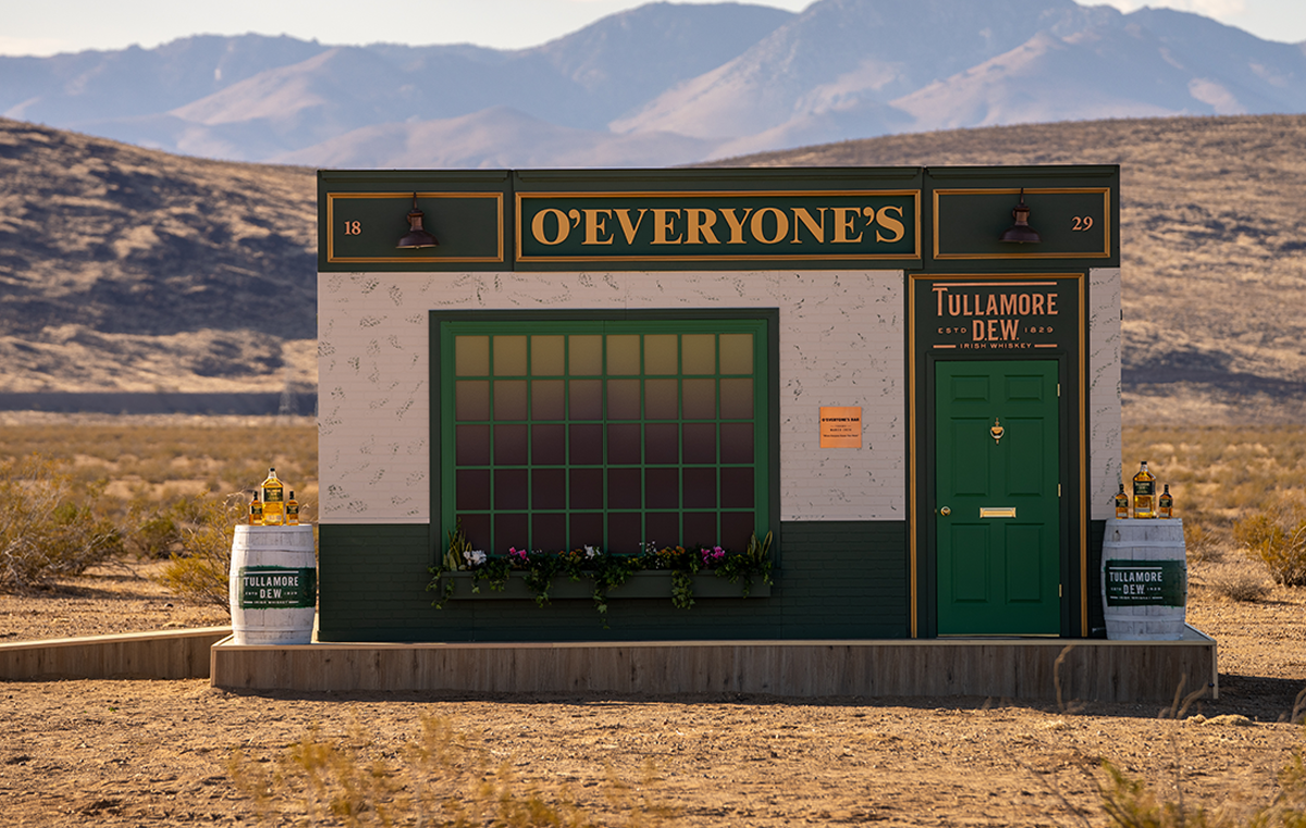 Tullamore Dew Built An Irish Pub In The Middle Of The Mojave Desert For St. Patrick's Day photo