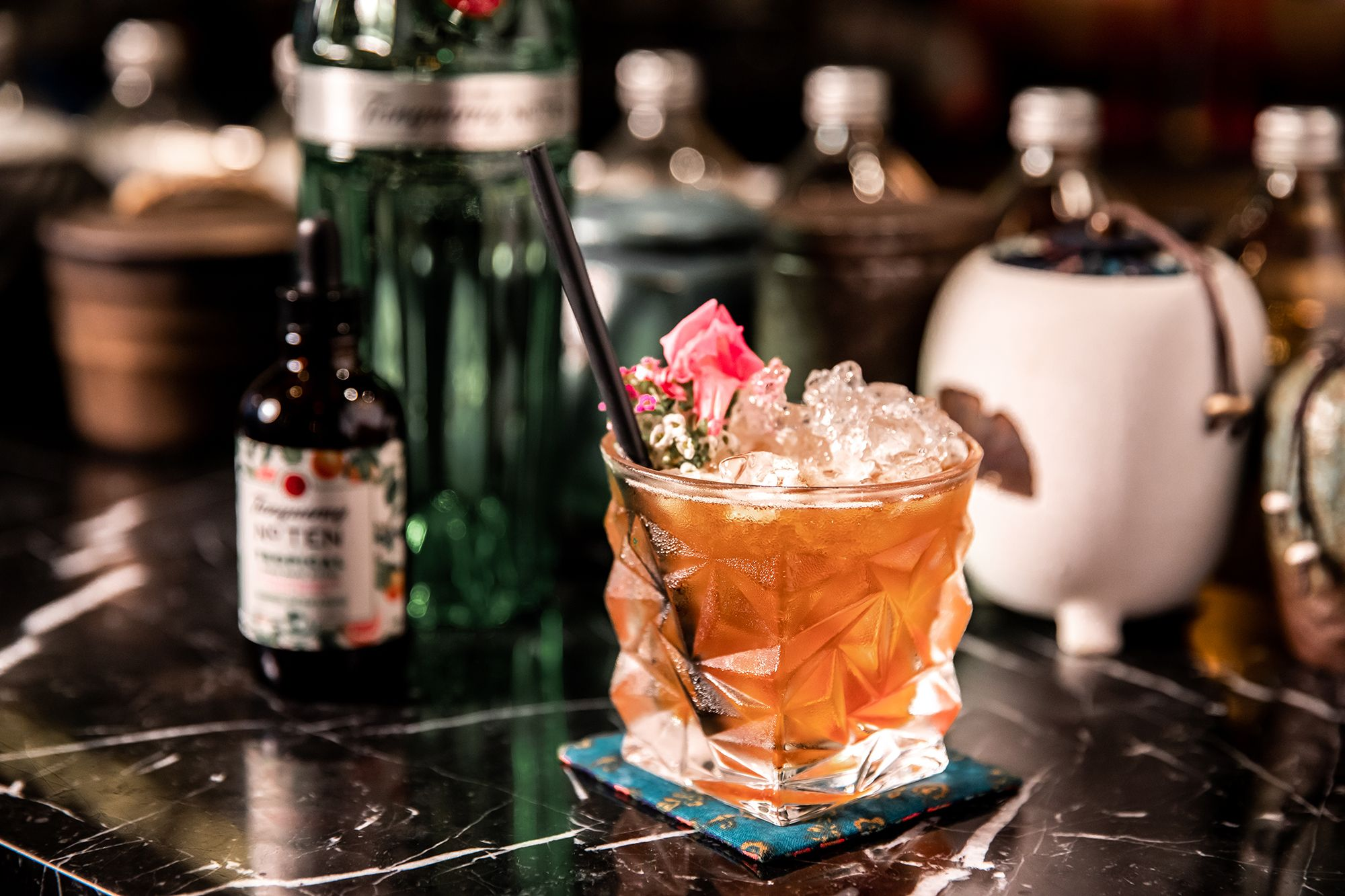 Taste The Tropics With Tanqueray No. Ten Tropical Citrus Heart Bitters photo