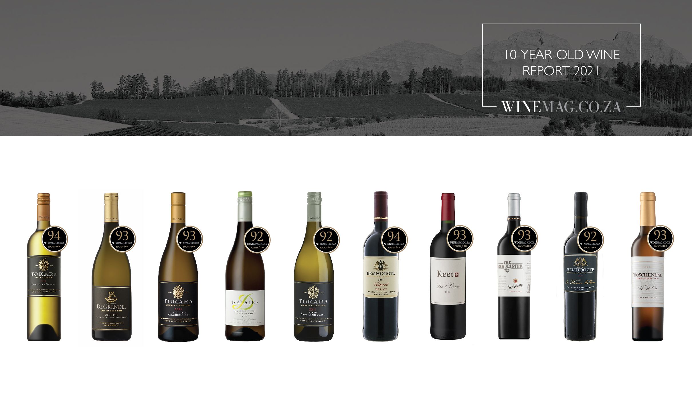 10-Year-Old Wine Report 2021 Is Live And Nederburg Takes The Lead photo