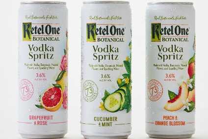 Ketel One Botanical Vodka Spritz Goes Overground In Us photo