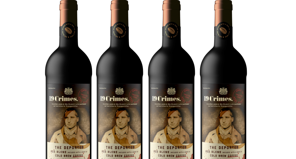 19 Crimes Adds Coffee-blended The Deported Wine To Range photo