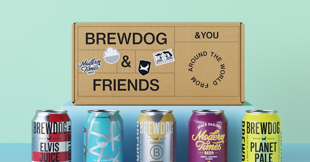Brewdog Launches 'first Carbon Negative Beer Club' photo