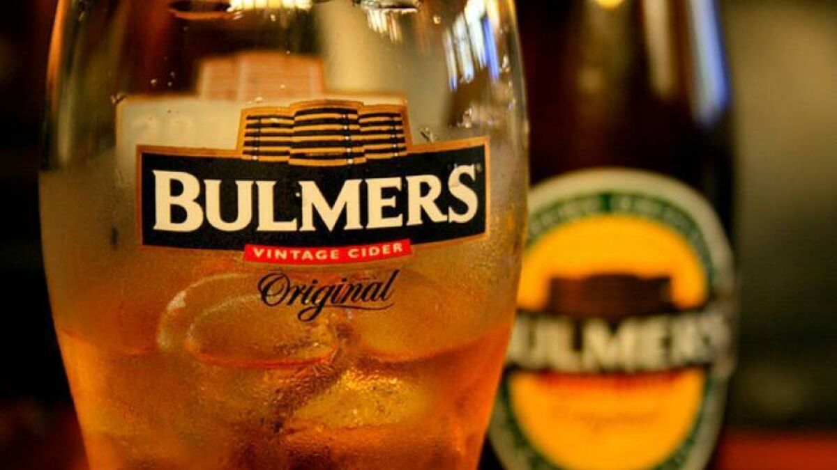 Bulmers Owner C&c Reviewing Operations But No Plans For More Job Cuts photo