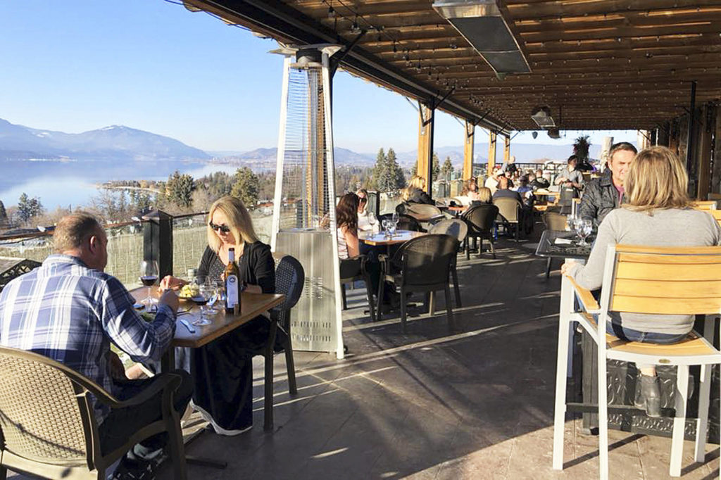 Covid-19: B.c. Has Banned Indoor Food Service. Here's A List Of Kelowna Restaurants With Patios photo