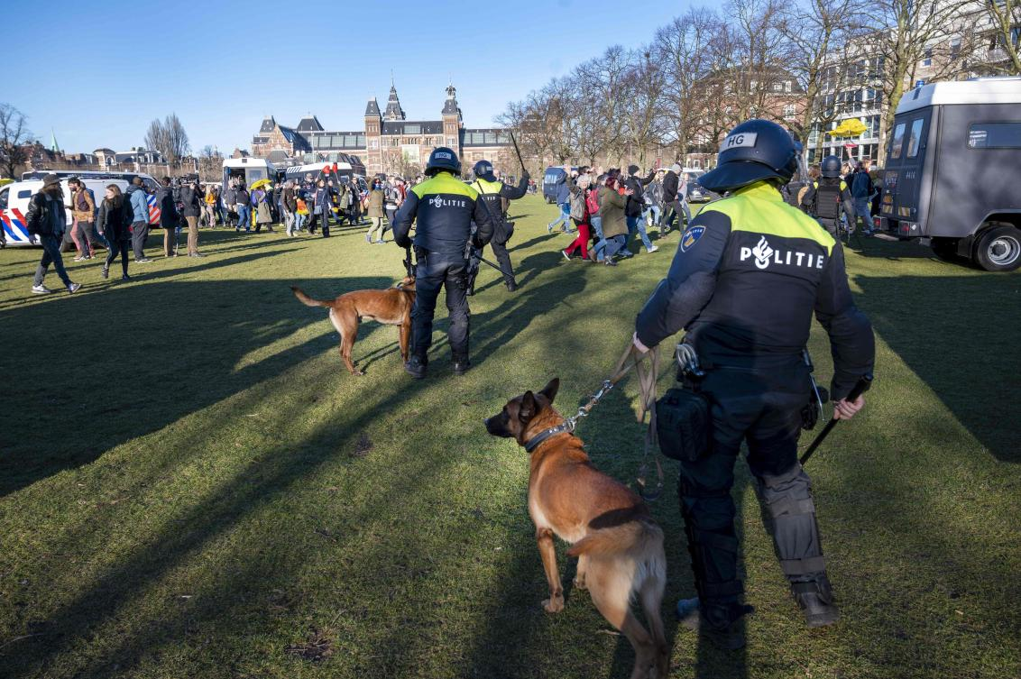 Explosion Hits Dutch Covid-19 Testing Center, No Injuries — Police photo