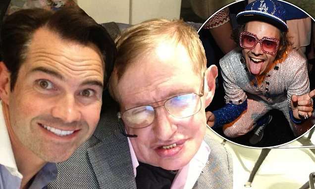 Jimmy Carr Reveals Harry Styles Took Shots With Stephen Hawking photo