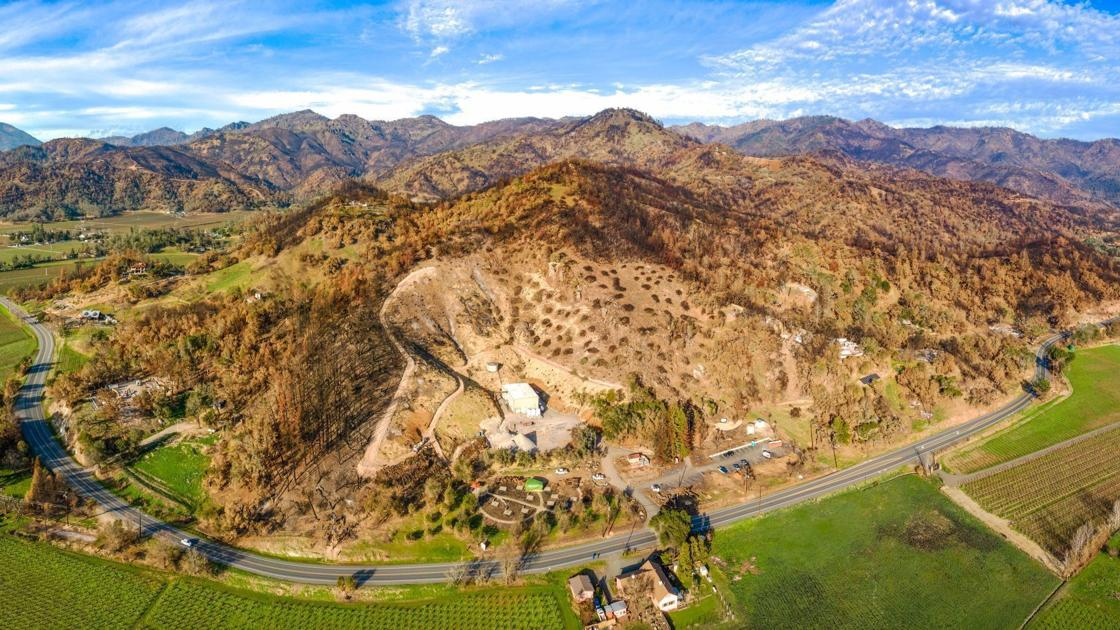 Calistoga Wineries Begin To Rebuild From Wildfires With Future Guests In Mind photo