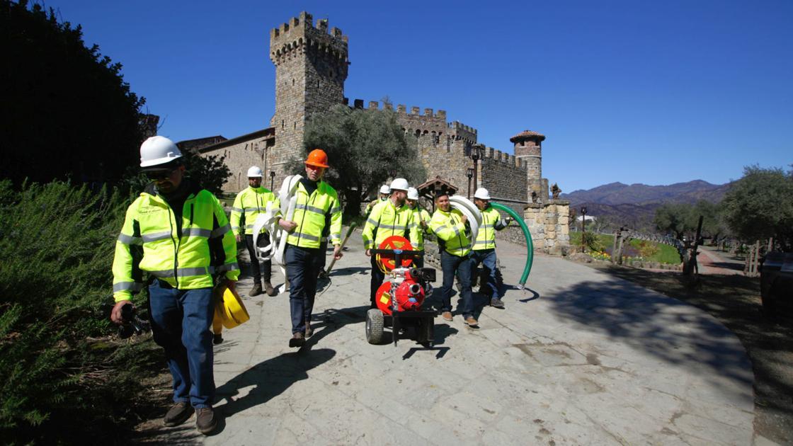 Napa Valley's Castello Di Amorosa Creates Italian Fire Brigade To Aid In Fighting Wildfires photo
