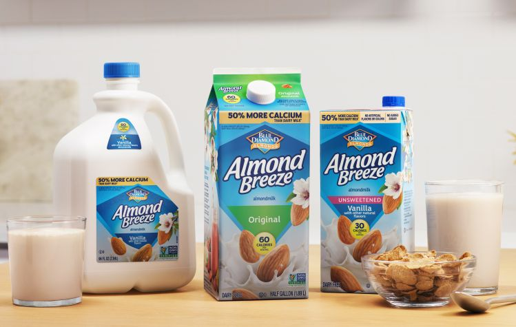 'a Tremendous Year…' Almond Breeze Now Generates More Than $800m In Annual Retail Sales, Says Blue Diamond Growers photo