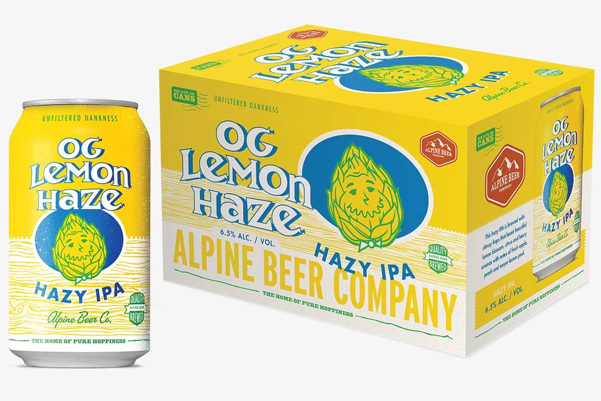 Alpine Beer Company Launches Og Lemon Haze Ipa photo