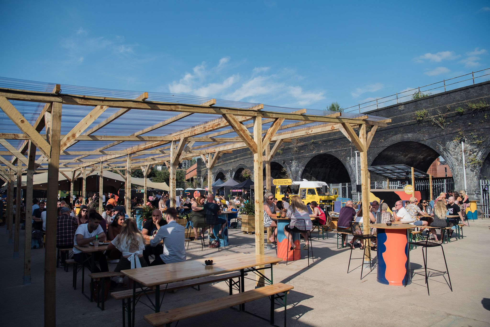 Leeds Open Air Food And Drink Space Returns photo