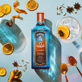 Bombay Sapphire Creates Sunset-inspired Gin photo
