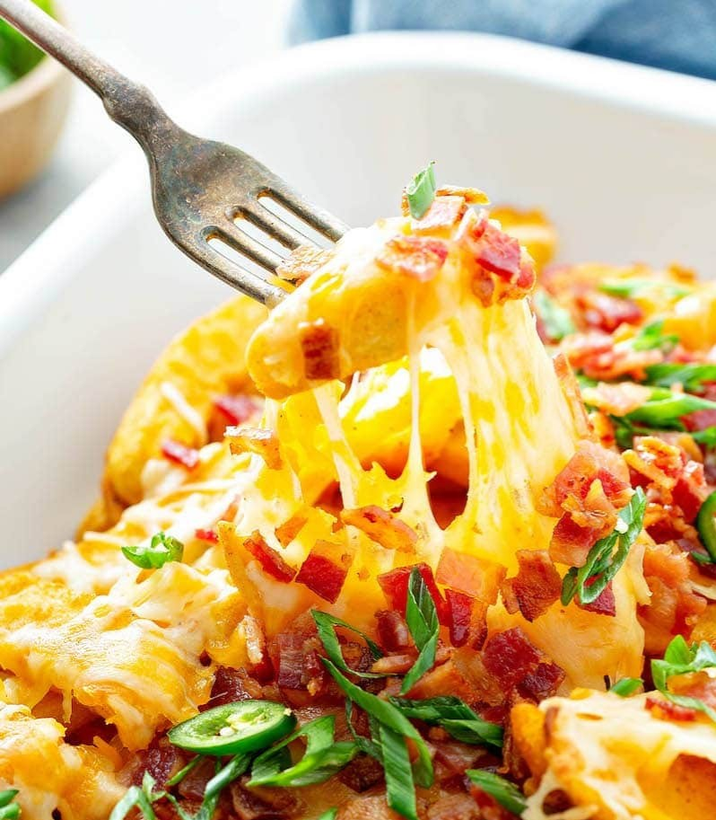 Tequila-spiked French Fries Covered In Cheese photo