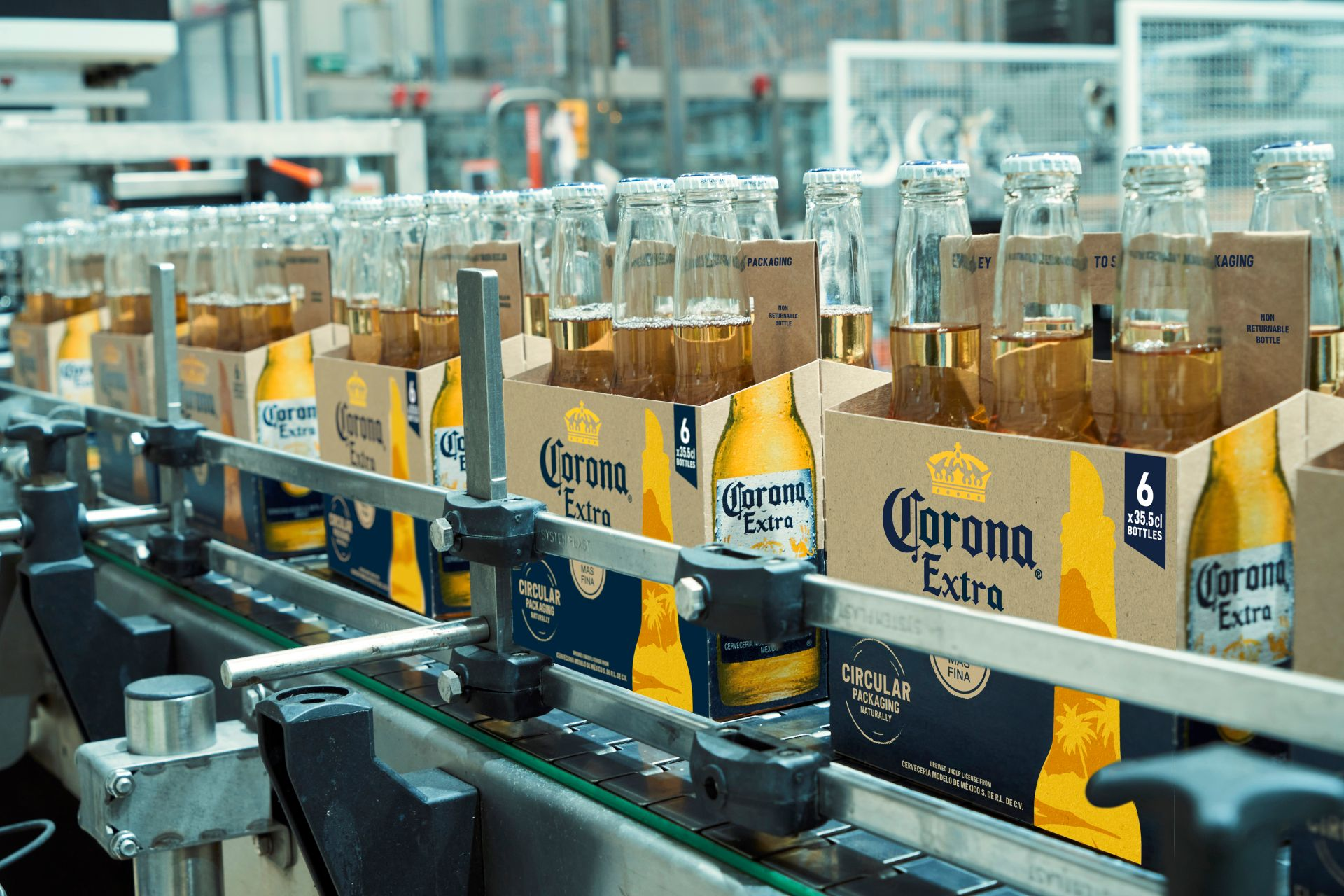 Ab Inbev Launches Barley-based Packaging For Corona Beer photo