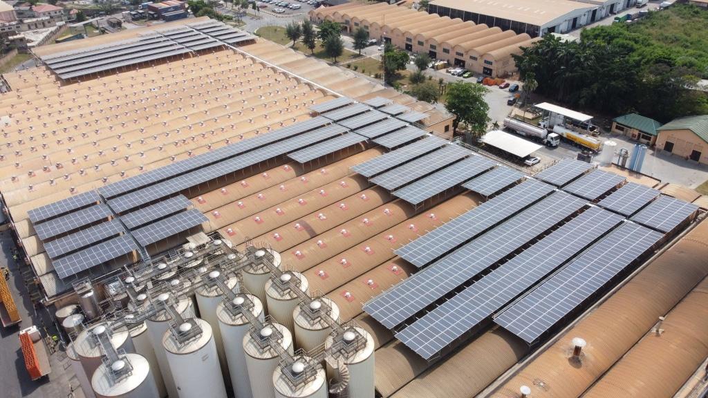 Ghana: Crossboundary Installs Solar Power Plant At Guinness Brewery photo