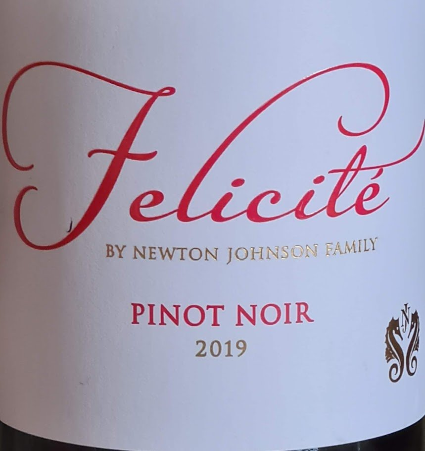 Felicité By Newton Johnson Pinot Noir 2019 photo