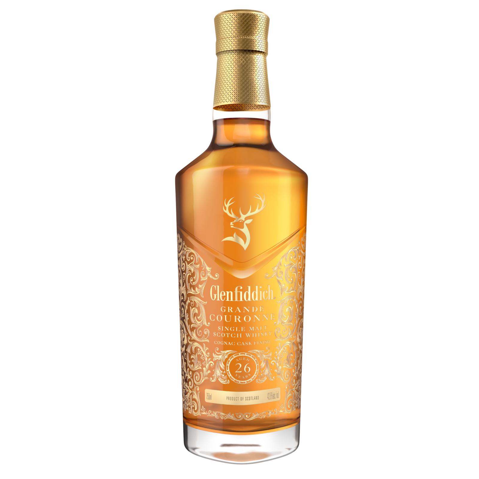 Glenfiddich Add To Grand Series With 26 Year Old Grande Couronne photo