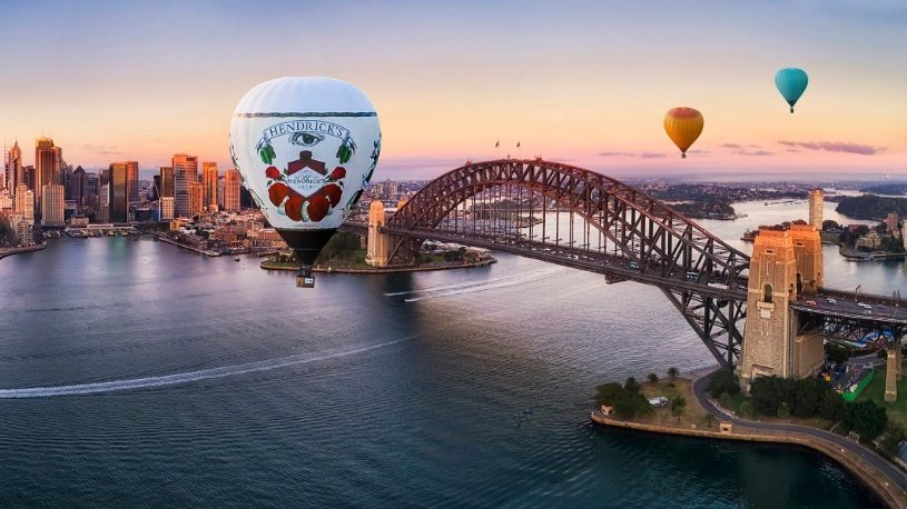 Hendrick's Gin Launches Week Of Wonders With Hot Air Balloons photo