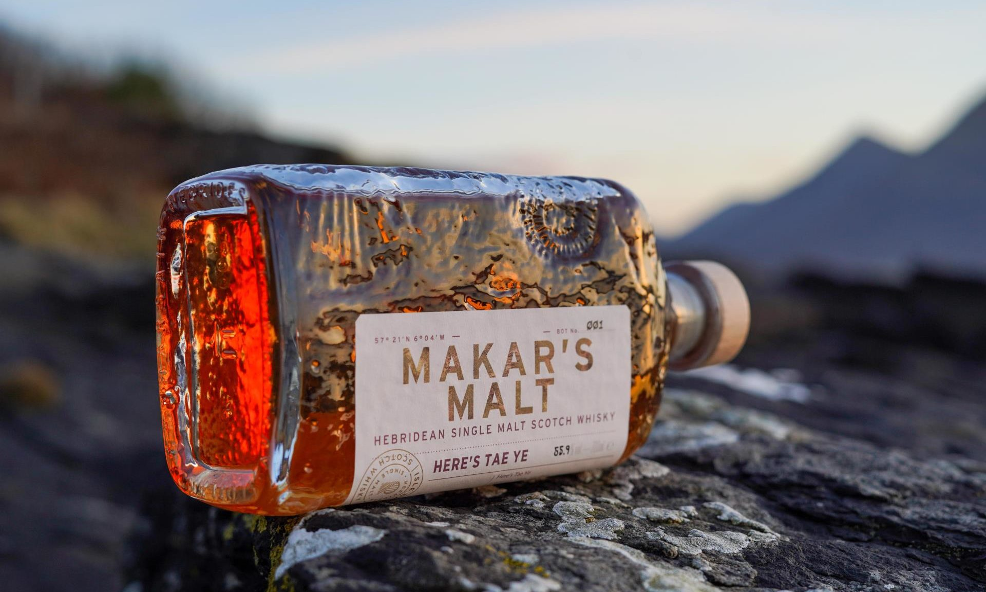 'here's Tae Ye': Isle Of Raasay Distillery Produces Limited Edition Malt To Mark Tenure Of Scots Makar Jackie Kay photo