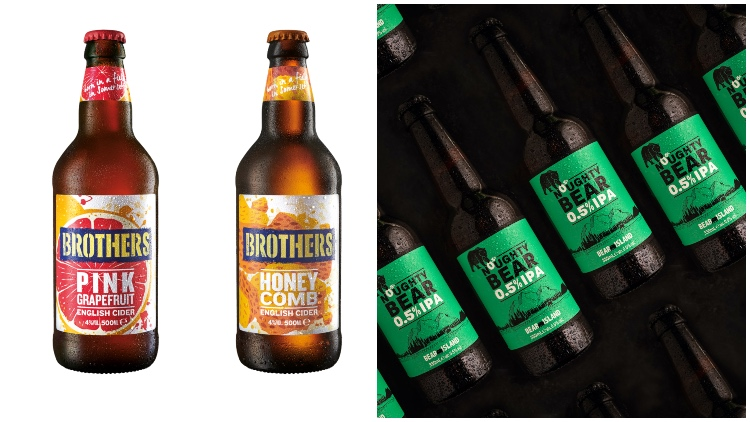 Shepherd Neame Launches First Low-alcohol Beer, Brothers Unveils New Flavour Duo photo