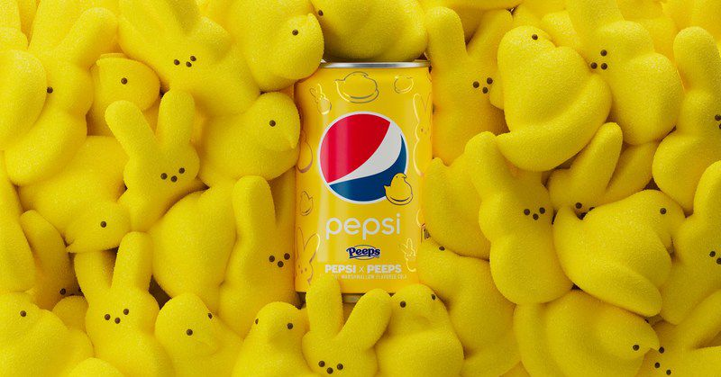 Peeps Is Collaborating With Pepsi To Release A Limited Edition Marshmallow-flavored Soda photo