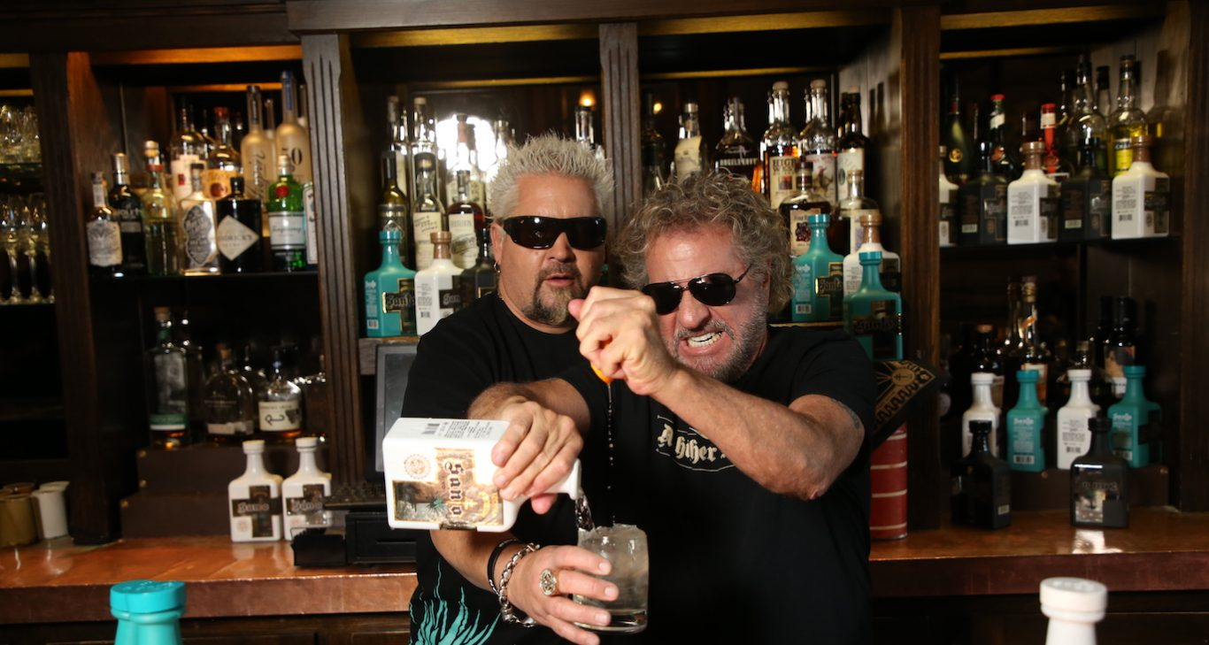 Santo Tequila Founders Sammy Hagar + Guy Fieri Cover Story photo