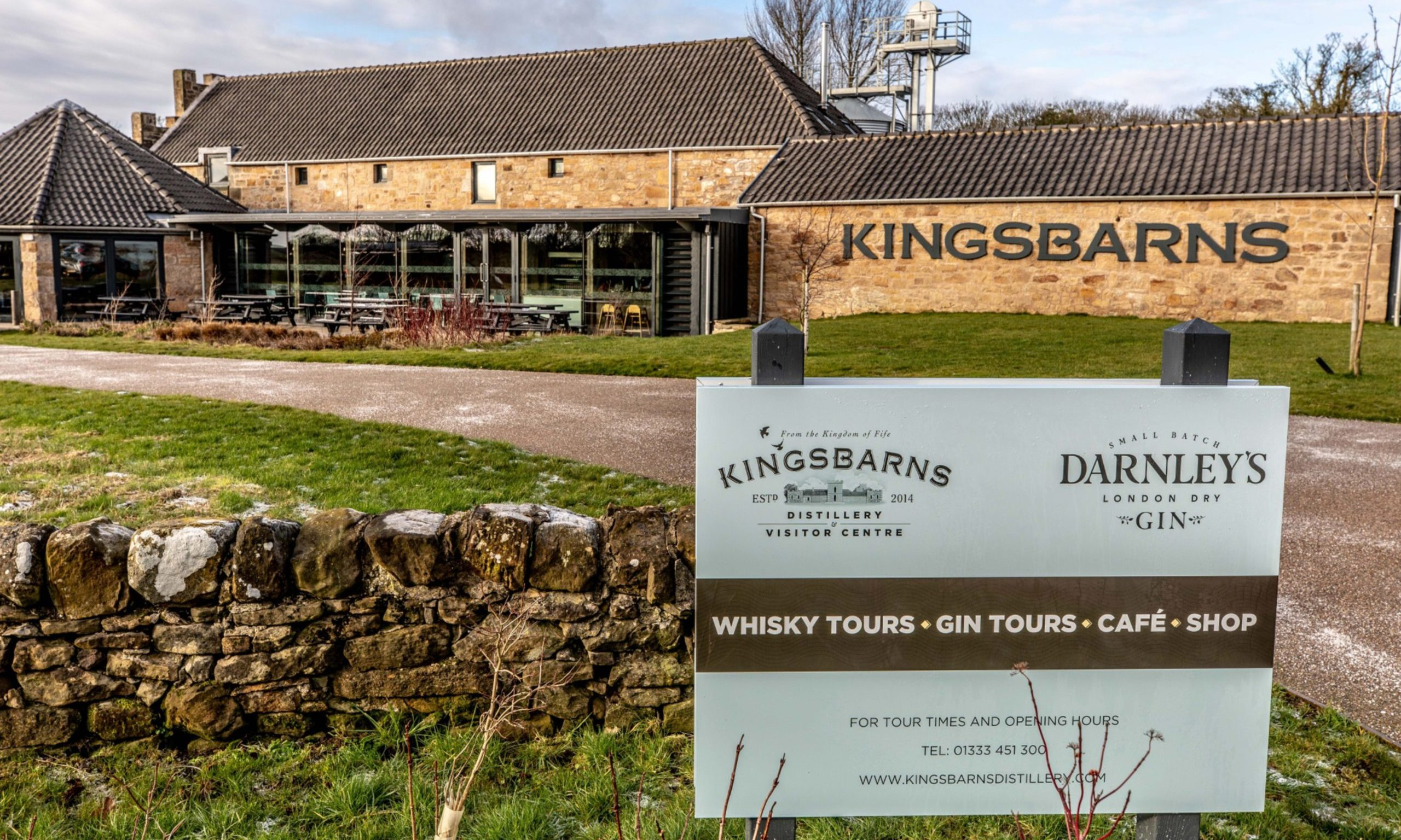 Kingsbarns Distillery Owner Reports Slump In Sales photo