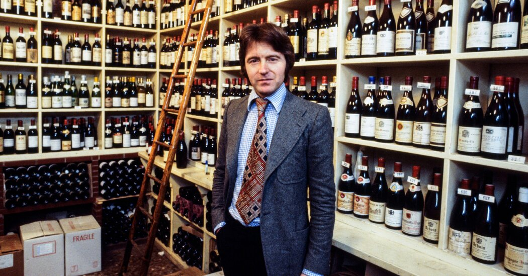 Steven Spurrier, Who Upended Wine World With A Tasting, Dies At 79 photo