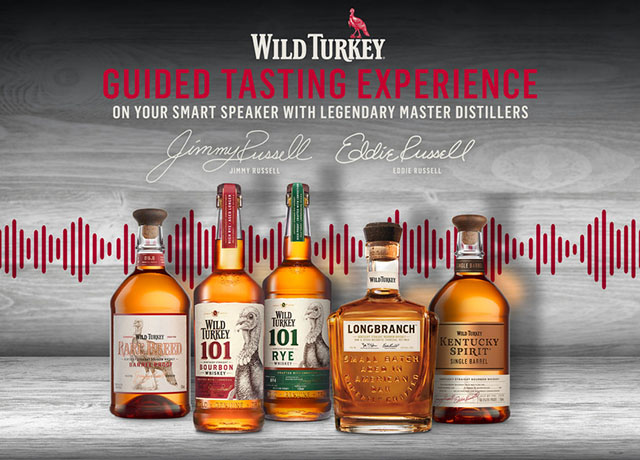 Wild Turkey Designs Guided Tasting For Alexa And Google photo