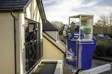 Heineken Offers Cherry Picker Bar Delivery Service On Lockdown Anniversary photo